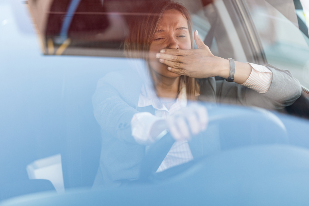 The dangers of drowsy driving are similar to driving drunk