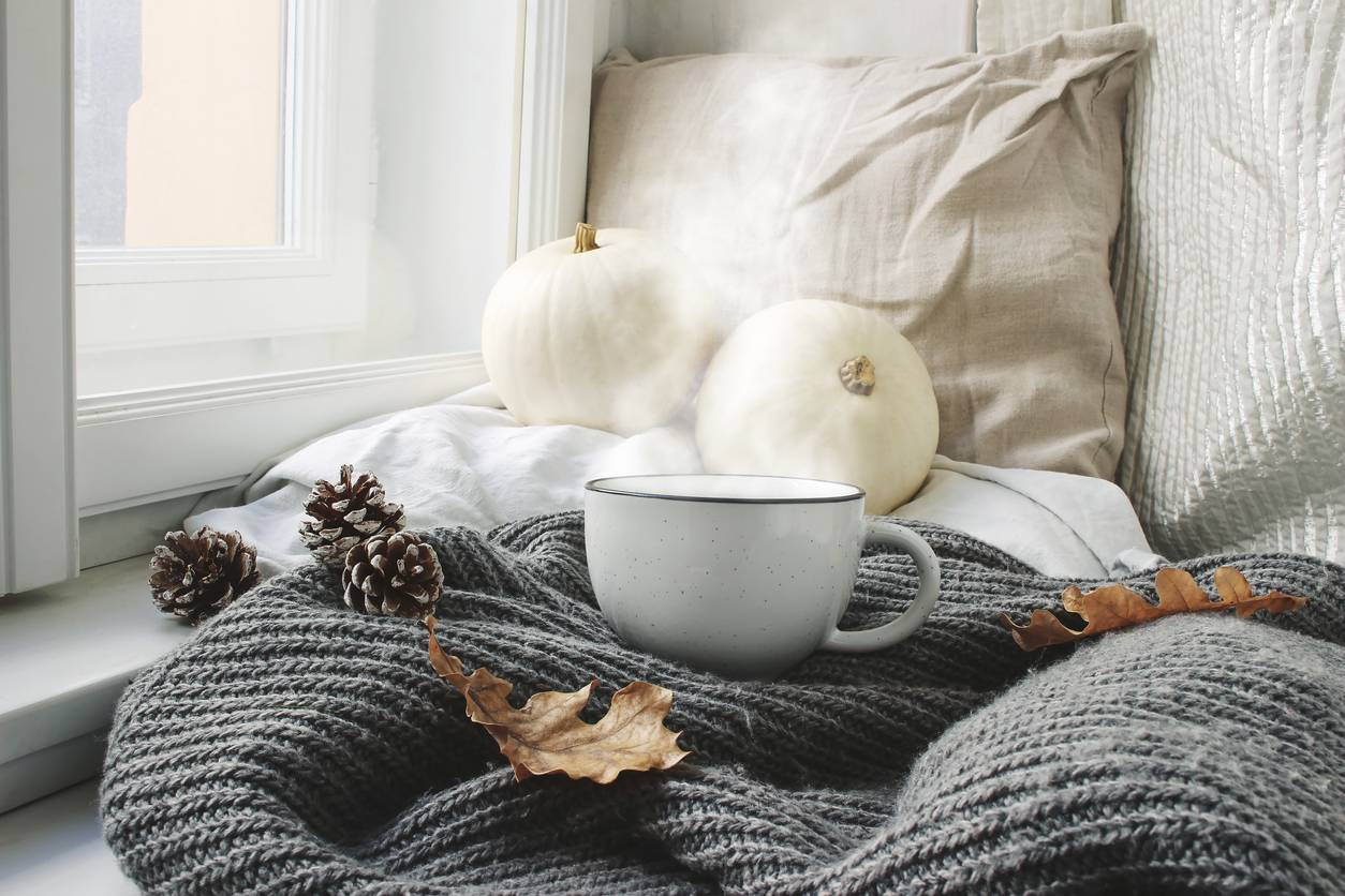 winter themed bed