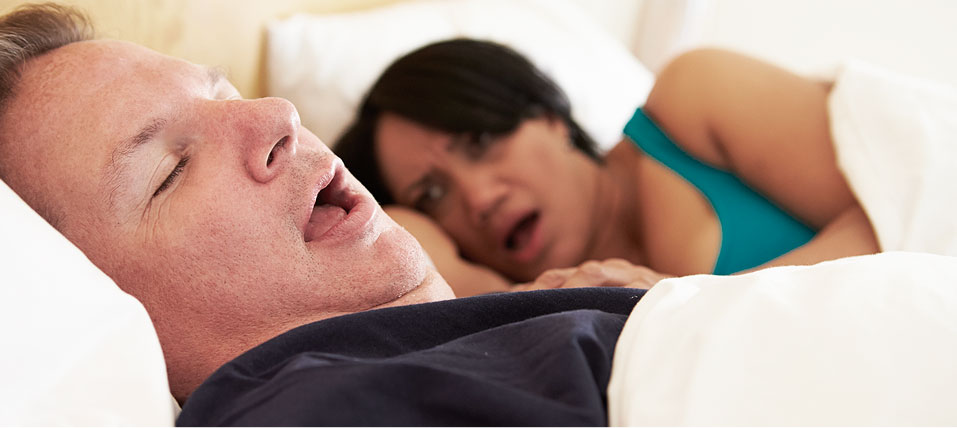 stock image shows sleeping with snoring mage