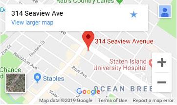 staten island location map