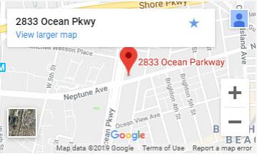 Brooklyn location map